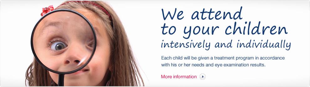 Vašim dětem se věnujeme intenzivně a individuálně